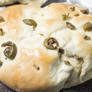 Ψωμάκι με Ελιές