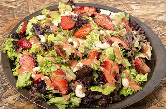 Σαλάτα με Φράουλες