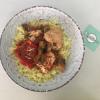 Φιλέτο κοτόπουλο με μανιτάρια και πιπεριές